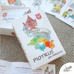 Piotruś – Powiat Toruński – karciana gra rodzina od Nasz Region!