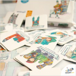 POZNAŃ - gra memo, memory, mapa dla dzieci i rodzin od Nasz Region
