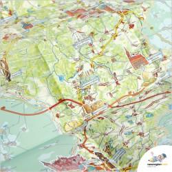 LGD GRUPA ŁUŻYCKA – Lubsko Gubin Brody Tuplice Jasień Lipniki Łużyckie Trzebiel - mapa turystyczna