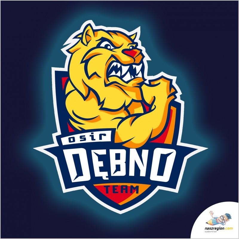 Dębno-osir-siłownia-logo-sport-polska, maraton, gymn, design, projekt, brand,