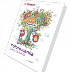 Kolorowanka - bajka Komorniki